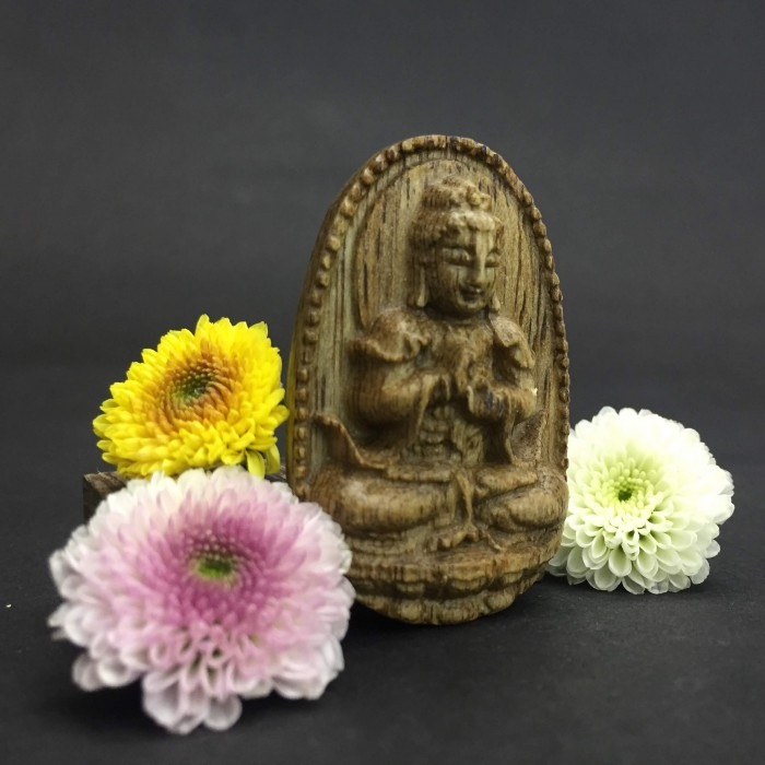 Vòng tay - Phật Như Lai Đại Nhật Làm Từ Trầm 35 Năm Tuổi - 2