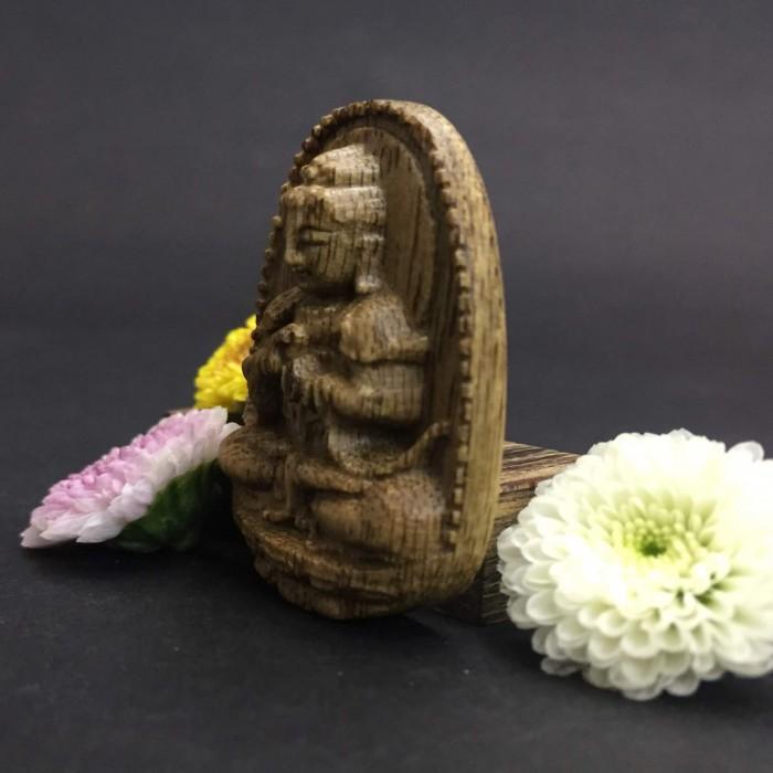 Vòng tay - Phật Như Lai Đại Nhật Làm Từ Trầm 35 Năm Tuổi - 3